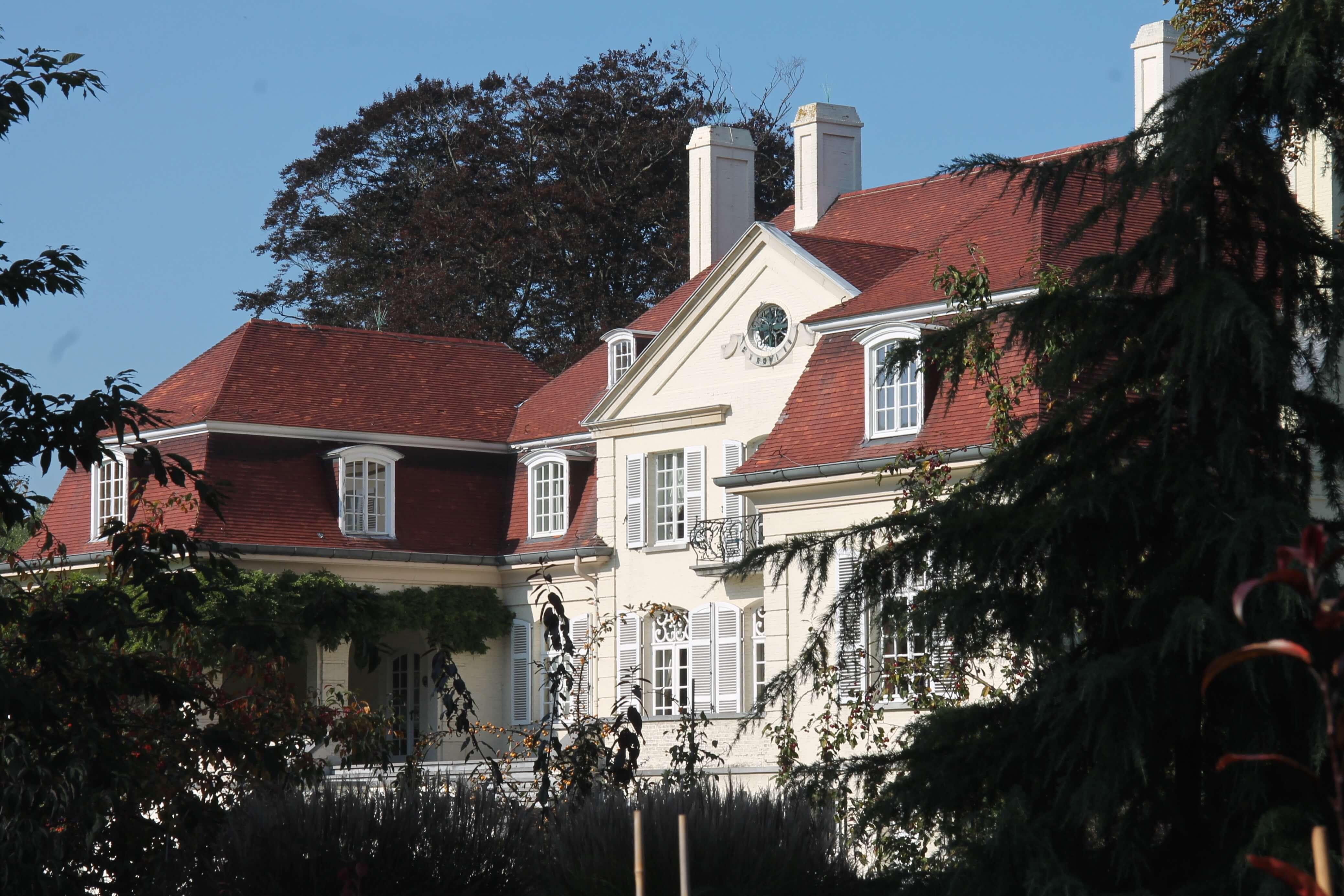 Beervelde ; het landhuis