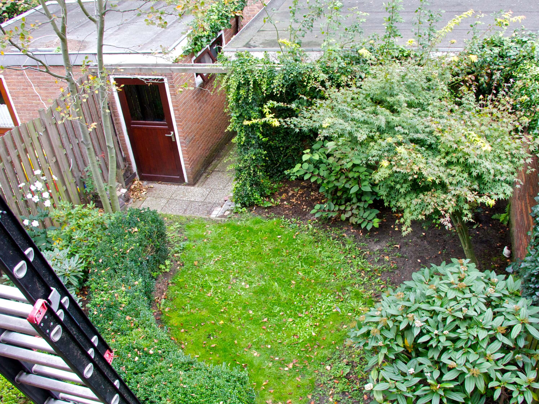 kleine achtertuin; oude situatie