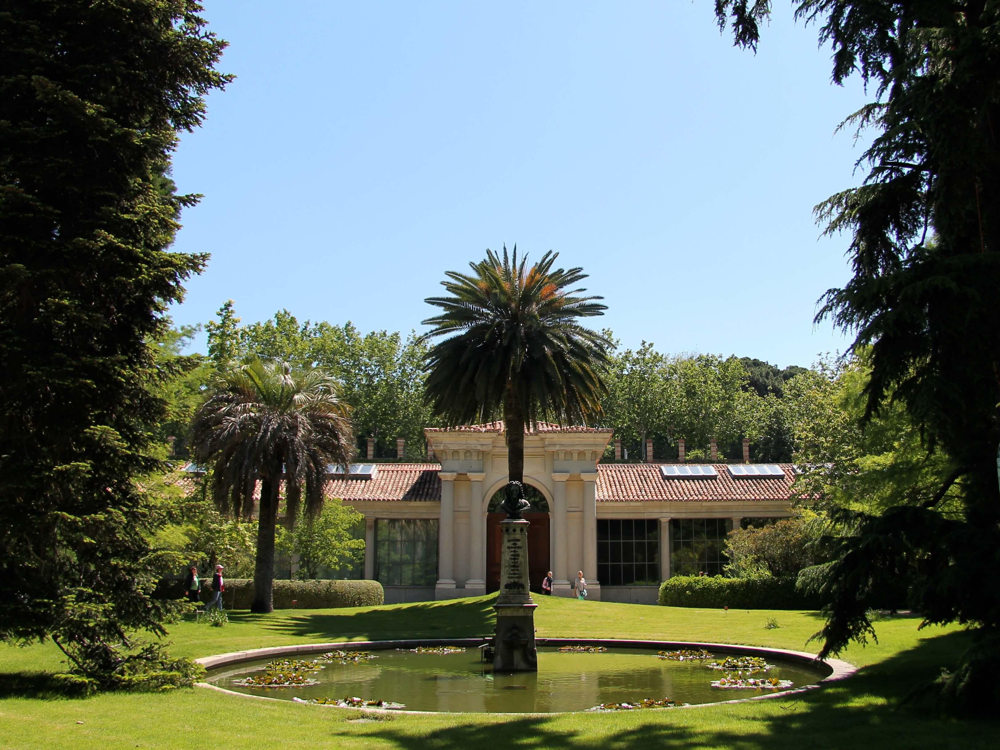 botanische tuin Madrid