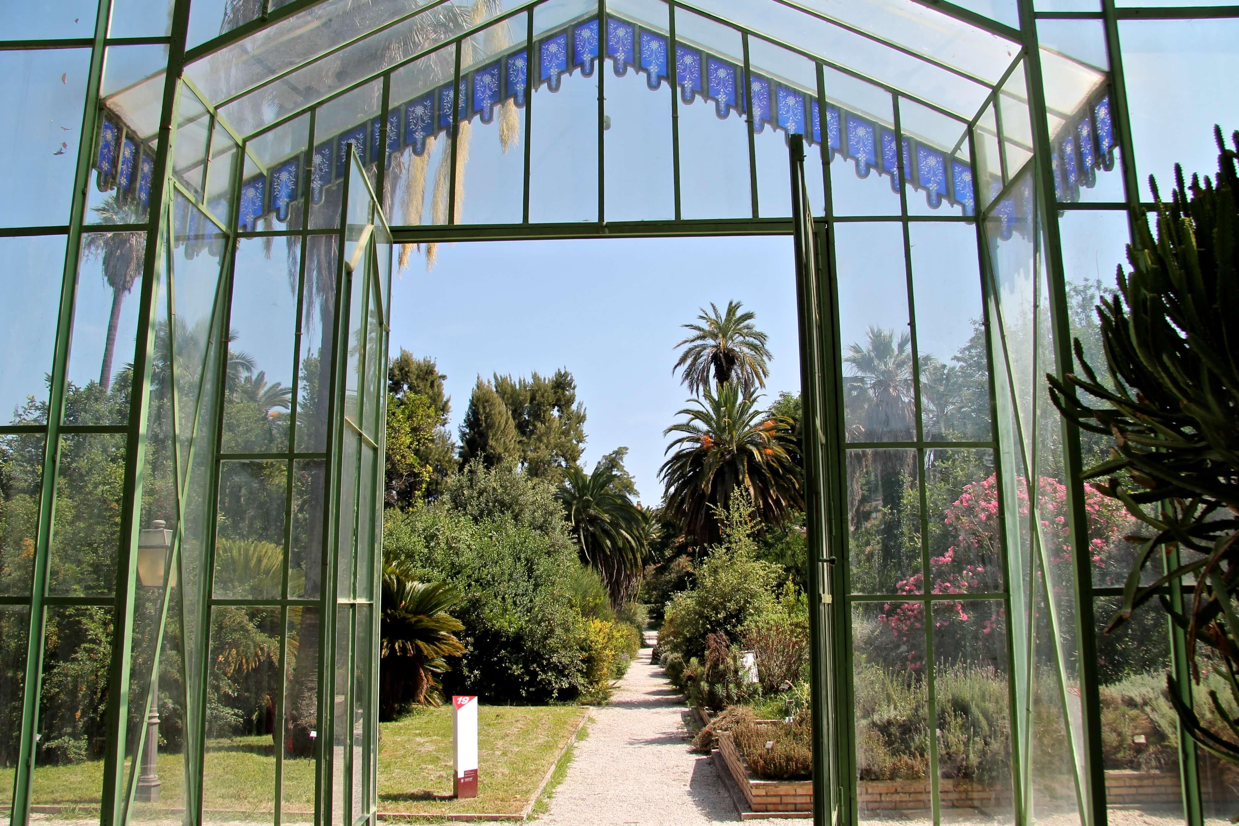 Botanische tuin Rome