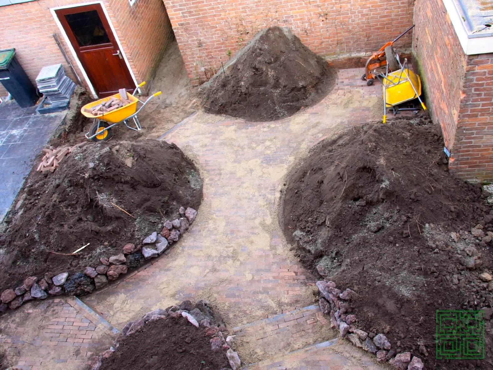 kleine romantische tuin