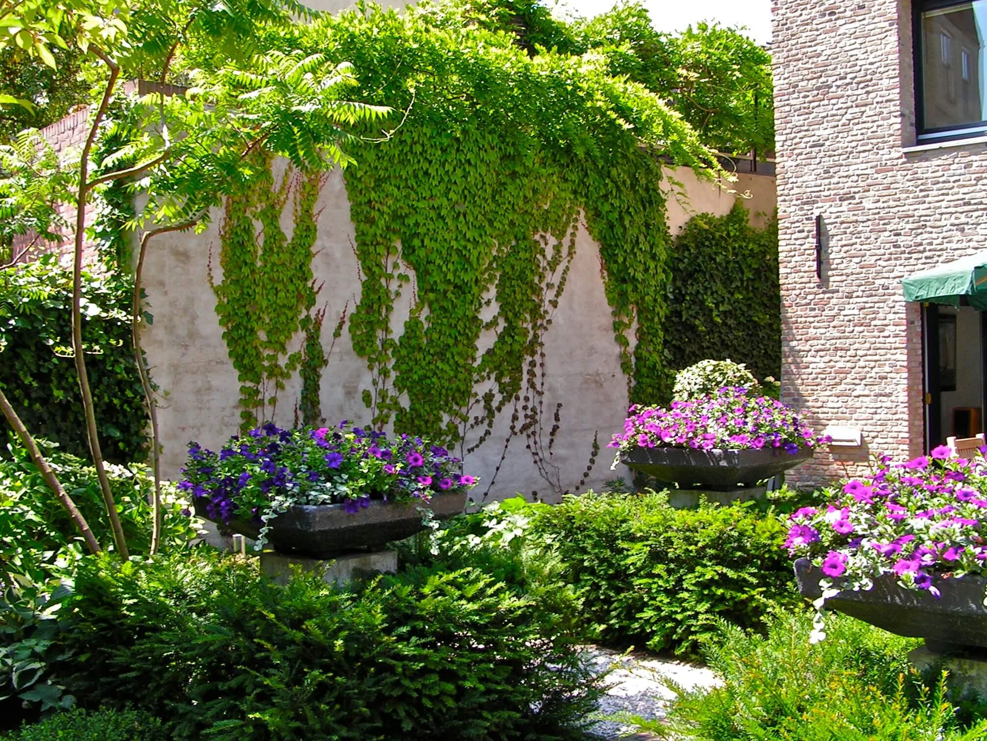 Tuin door Ron den Dikken
